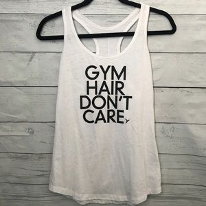 Old Navy White Workout Tank Top